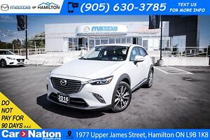 2016 Mazda CX-3 GT | AWD | SUNROOF
