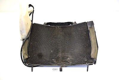 Original Yamaha YZF R6 Rj11 Cooler Radiator 06-07 Radiator Water Cooler 2C0