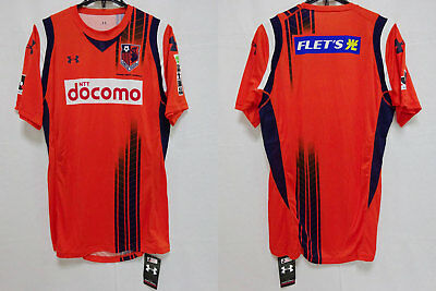 2011 Omiya Ardija Jersey Shirt Home NTT docomo Under Armour J-league XL BNWT image
