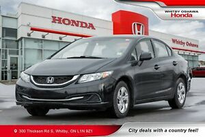 2013 Honda Civic LX (M5) | Power Amenities, Heated Front Seats,