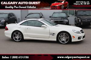 2010 Mercedes-Benz SL-Class SL63 AMG Roadster 518HP/NAVI/LEATHER
