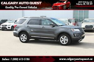 2016 Ford Explorer XLT 4WD/NAVI/B.CAM/LEATHER/3RD ROW/3.5L V6