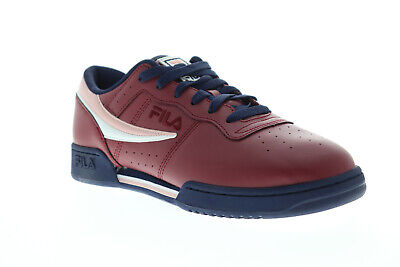 Fila Original Fitness 1FM00103-649 Mens Red Casual Low Top Sneakers Shoes