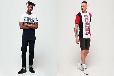 Superdry Mens Super Stacked Oversized T-Shirt