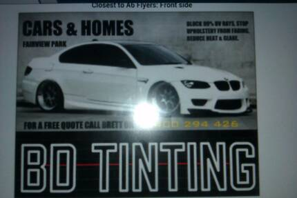 BD WINDOW TINTING Fairview Park Tea Tree Gully Area Preview