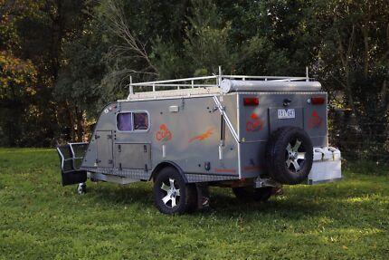 2014 CUB Stockman SupaVan hardfloor camper trailer tourer