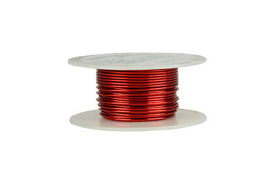 Temco Magnet Wire 17 Awg Gauge Enameled Copper 4oz 155c 40ft Coil Winding