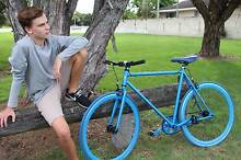 Fixie Bike Blue (New) REDUCED FROM $310.00 Palm Beach Gold Coast South Preview