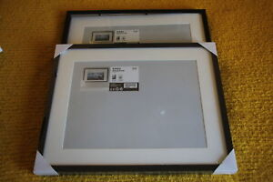 Two 16 x 20 picture frames. Ribba Ikea Brand $25 for both