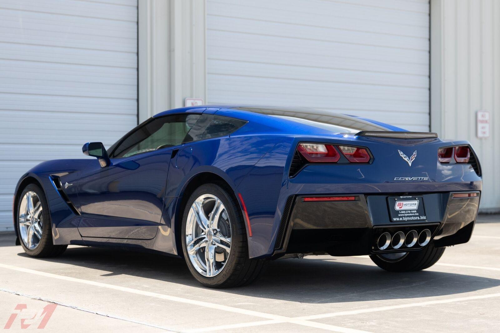 2017 Blue Chevrolet Corvette  2LT | C7 Corvette Photo 10