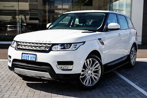 2014 Land Rover Range Rover Sport L494 MY14.5 Autobiography White 8 Speed Sports Automatic Wagon Osborne Park Stirling Area Preview