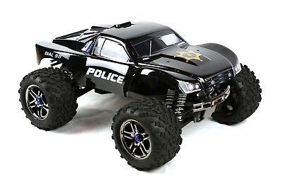 Custom Body Police Style for Traxxas T / E Maxx Shell Cover 3911R E-Maxx