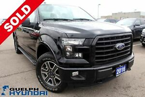 2016 Ford F-150 Sport, XLT, 4X4, V-8, BACKUP CAM &MORE!