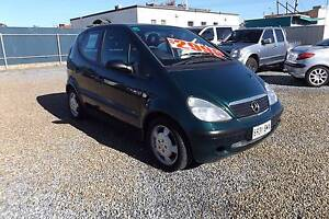 2001 Mercedes-Benz A160 AUTO Hatchback Rosewater Port Adelaide Area Preview