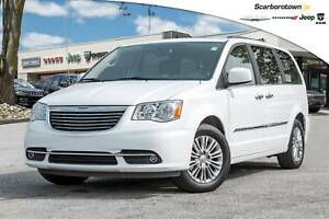 2016 Chrysler Town & Country Touring-L+LTHR+POWER-DOOR+NAV+DVD