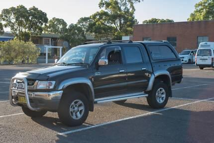2004 Toyota Hilux VZN167R SR5 Utility Dual Cab 4dr Auto 4sp 4x4