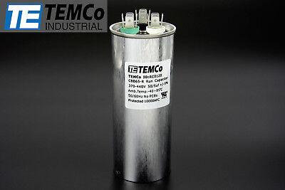 Temco 505 Mfd Uf Dual Run Capacitor 370 440 Vac Volts Ac Motor Hvac 505