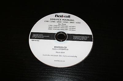 Flexi Coil Flexicoil 1740 2340 2850 3350 3850 4350 Air Cart Service Manual
