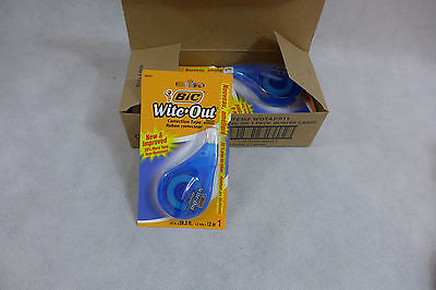 Bic Wite White Out Correction Tape Ez Correct 6 Pack Brand New Sealed