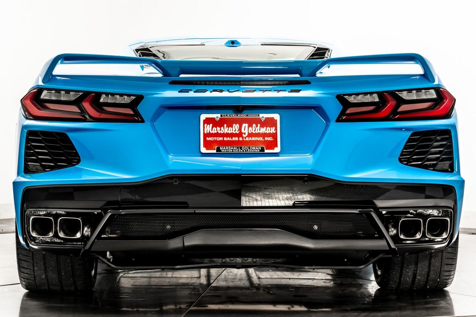 2021 Blue Chevrolet Corvette  3LT   C7 Corvette Photo 7