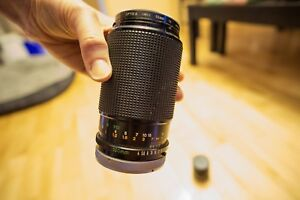 Canon FD 100mm F4 Macro with FD50 1:1 Extension Tube