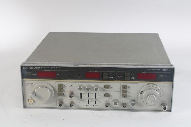HP / Agilent / Keysight 8684D 5.4-18.0 GHz Signal Generator