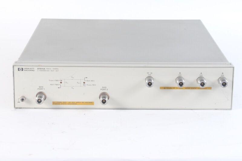 Agilent 87511A S-Parameter Test Set, 100 kHz to 500 MHz, 50 ohm