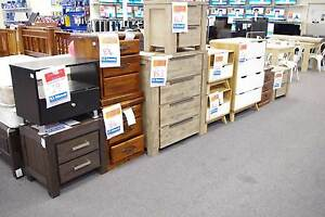 Bedside Chest Of Drawers, Tallboys from $19 Booval Ipswich City Preview