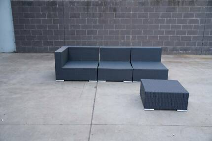 CLEARANCE SALE - THIS WEEKEND! WICKER OUTDOOR LOUNGE
