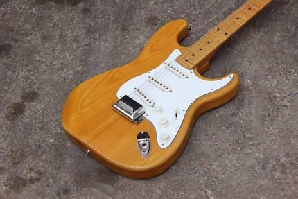 1972 Greco SE-500 Stratocaster (Natural Ash) w/Hard Case