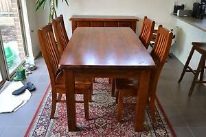 Hardwood Dining Set Grovedale Geelong City Preview