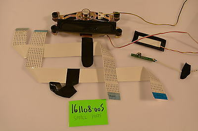 Vizio E370VL Small Parts Repair Kit SPEAKERS;LVDS CABLES;IR SENSOR;LED