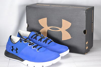 Men's Under Armour Charged Ultimate TR 2.0 Running Shoes Royal BLue 7.5