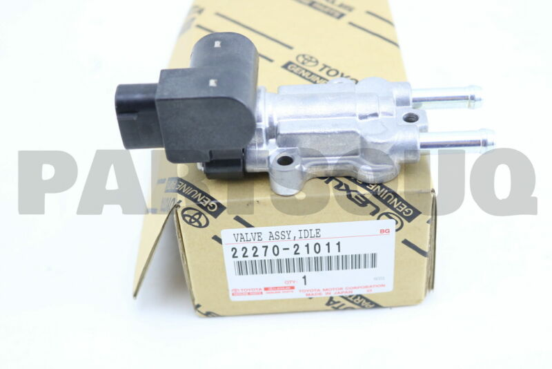 2227021011 Genuine Toyota Valve Assy, Idle Speed Control(for Thlottle Body)
