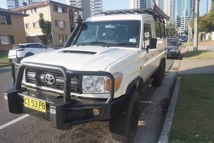 2011 Toyota Troopcarrier for sale, V8 Troopy with 156k