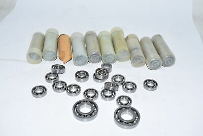Large Lot Of New Roller Ball Bearings