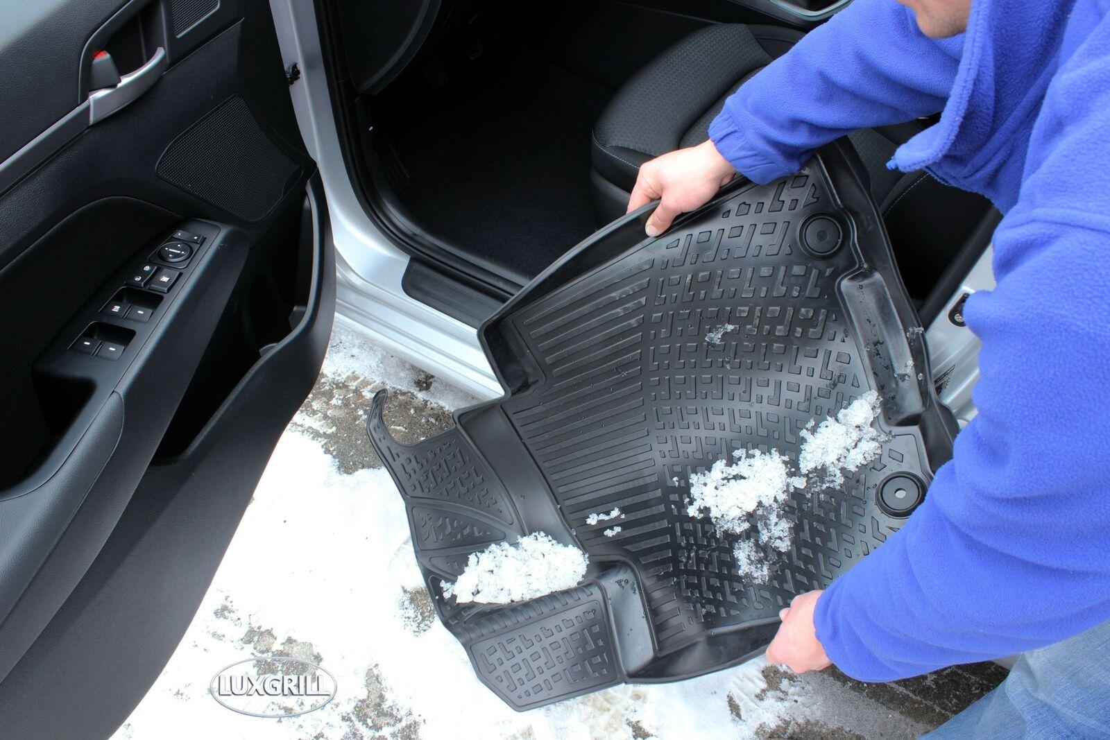 NFLCHR701 PREMIUM Gummimatten Gummifußmatten TPE 3D Chrysler 300C 2004-2012