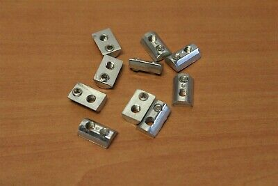 8020 Inc T-slot 10 Series M5 Roll-in T-nut With Set Screw 3893 10pk E2-10