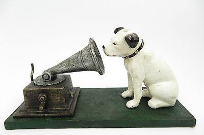 sculpture chien GRAMOPHONE LOGO His Master' du Voice Rogers FOUNDRY Birmingham
