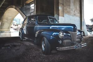 1941 ford super deluxe 2 dr  hotrod