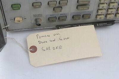 Hp 8970b Noise Figure Meter Parts Repair