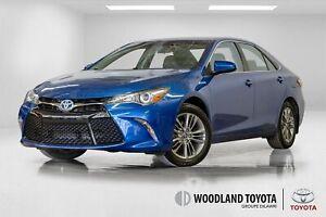 2017 Toyota Camry Hybrid SE / Caméra / Bluetooth / Mags / Écran