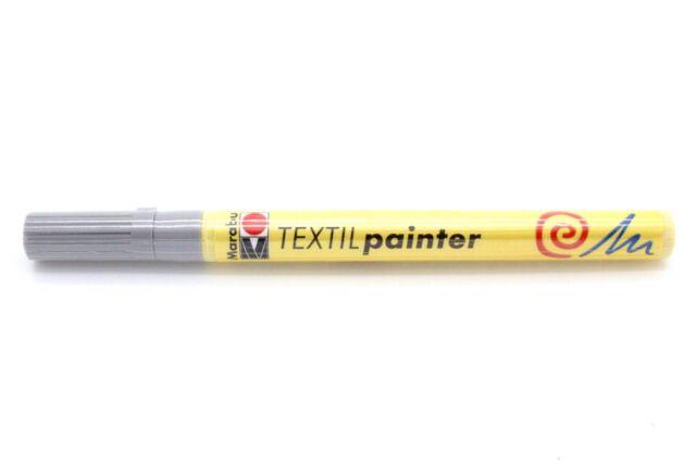 "Marabu Textilmarker ""Textil Painter"", grau"