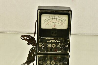 Vintage Electronic Measurements Corp Emc Model 106 Vacuum Tube Voltmeter