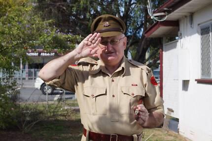 volunteer defence corps re-enacting group