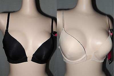 NWT INVISIBLE CUP CONNECTOR NO SHOW PLUNGE CONVERTIBLE  PLUNGE PUSH UP BRA (Invisible Convertible Push Up Bra)