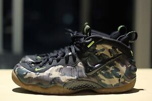 Air Foamposite One camouflage Carlton Melbourne City Preview