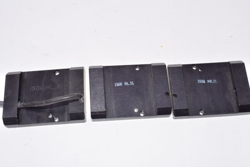 Lot of 3 Ultratech Stepper, UTS, 1500 HR.31 Fixture Plates