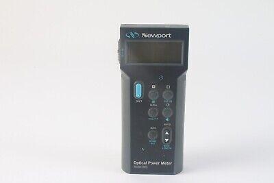 Newport Model 840 Handheld Optical Power Meter And Detector - As Is