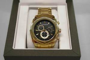 Michael Hill Men's Chronograph Watch in Gold Tone Stainless Steel Nerang Gold Coast West Preview